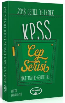 Yediiklim Yayınları 2018 KPSS Genel Yetenek Matematik Geometri Sayısal Mantık Cep Serisi