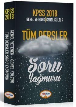 Yediiklim Yayınları 2018 KPSS Genel Yetenek Genel Kültür Tüm Dersler Soru Yağmuru