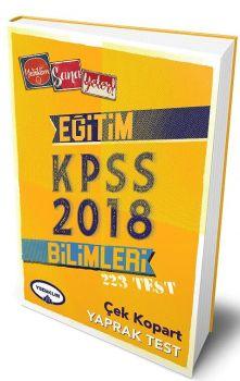 Yediiklim Yayınları 2018 Eğitim Bilimleri Çek Kopart Yaprak Test