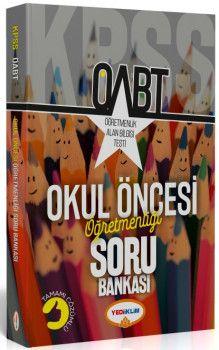 Yediiklim Yayınları ÖABT Okul Öncesi Öğretmenliği Tamamı Çözümlü Soru Bankası