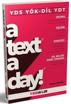 Yediiklim Yayınları YDS YÖKDİL YDT A Text A Day Okuma Kelime Strateji Dil Bilgisi Konu Tekrarı