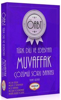 Yediiklim Yayınları ÖABT Türk Dili ve Edebiyatı Muvaffak Çözümlü Soru Bankası