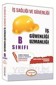 Yediiklim Yayınları İş Sağlığı ve Güvenliği Uzmanlığı B Sınıfı Çalışma Kitabı
