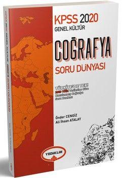 Yediiklim Yayınları 2020 KPSS Coğrafya Genel Kültür Soru Dünyası
