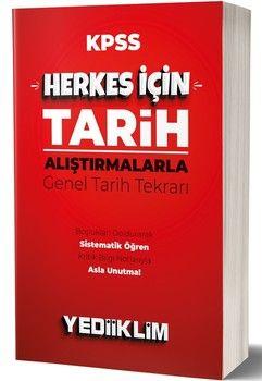 Yediiklim Yayınları KPSS Herkes İçin Tarih Araştırmalarla Genel Tarih Tekrarı