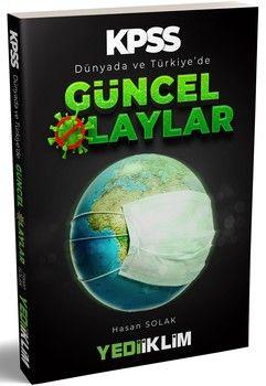 Yediiklim Yayınları 2020 KPSS Dünyada ve Türkiye de Güncel Olaylar