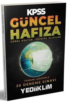 Yediiklim Yayınları KPSS Güncel Hafıza Tamamı Çözümlü 30 Deneme Sınavı