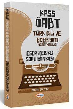 Yediiklim Yayınları 2020 ÖABT Türk Dili ve Edebiyatı Öğretmenliği Eser İçerikli Soru Bankası