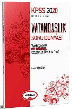 Yediiklim Yayınları 2020 KPSS Genel Kültür Vatandaşlık Soru Dünyası