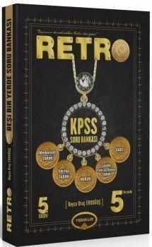 Yediiklim Yayınları KPSS RETRO 5 i Bir Yerde Soru Bankası