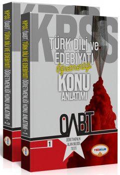 Yediiklim Yayınları ÖABT Türk Dili ve Edebiyatı Öğretmenliği Konu Anlatımlı 2 Kitap