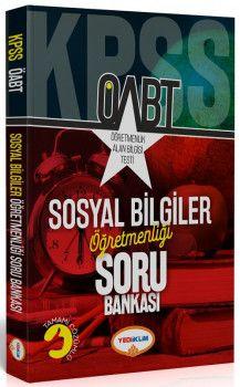 Yediiklim Yayınları ÖABT Sosyal Bilgiler Öğretmenliği Tamamı Çözümlü Soru Bankası
