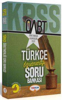 Yediiklim Yayınları ÖABT Türkçe Öğretmenliği Tamamı Çözümlü Soru Bankası