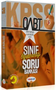 Yediiklim Yayınları ÖABT Sınıf Öğretmenliği Tamamı Çözümlü Soru Bankası