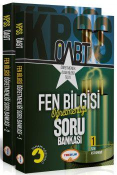 Yediiklim Yayınları ÖABT Fen Bilgisi Öğretmenliği Tamamı Çözümlü Soru Bankası 2 Kitap