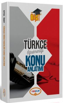 Yediiklim Yayınları ÖABT Türkçe Öğretmenliği Konu Anlatımlı