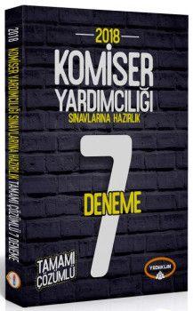 Yediiklim Yayınları 2018 Komiser Yardımcılığı Sınavlarına Hazırlık Tamamı Çözümlü 7 Deneme