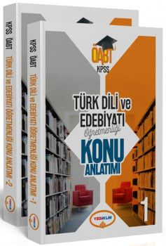 Yediiklim Yayınları ÖABT Türk Dili ve Edebiyatı Konu Anlatımlı 2 Kitap