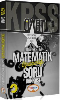 Yediiklim Yayınları ÖABT Ortaöğretim Matematik Öğretmenliği Soru Bankası