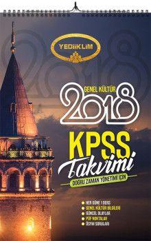Yediiklim Yayınları 2018 KPSS Genel Kültür KPSS Takvimi