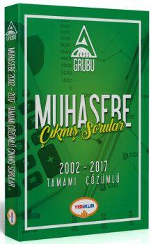 Yediiklim Yayınları KPSS A Grubu Muhasebe Tamamı Çözümlü Çıkmış Sorular 2002 - 2017