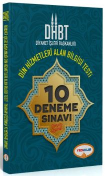 Yediiklim Yayınları DHBT Diyanet İşleri Başkanlığı Din Hizmetleri Alan Bilgisi Testi Tamamı Çözümlü 10 Deneme Sınavı