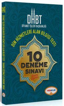 Yediiklim Yayınları DHBT Diyanet İşleri Başkanlığı Din Hizmetleri Alan Bilgisi Testi Tamamı Çözümlü 10 Deneme Sınavı