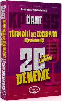 Yediiklim Yayınları ÖABT Türk Dili ve Edebiyatı Öğretmenliği Tamamı Çözümlü 20 Deneme