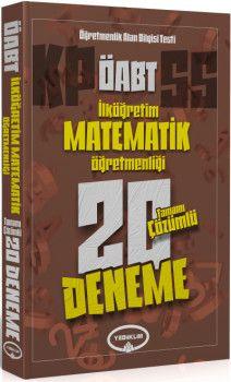 Yediiklim Yayınları ÖABT İlköğretim Matematik Öğretmenliği Tamamı Çözümlü 20 Deneme