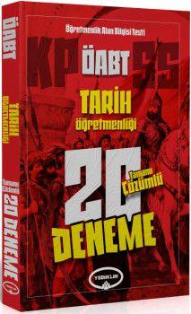 Yediiklim Yayınları ÖABT Tarih Öğretmenliği Tamamı Çözümlü 20 Deneme