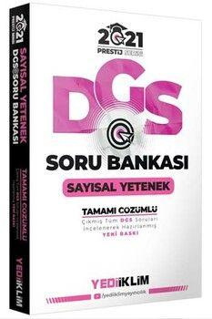 Yediiklim Yayınları 2021 DGS Sayısal Yetenek Prestij Serisi Soru Bankası