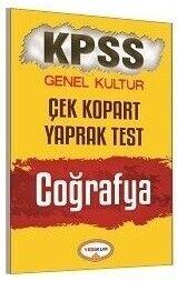 Yediiklim Yayınları KPSS Coğrafya Genel Kültür Çek Kopart Yaprak Test