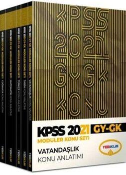 Yediiklim Yayınları KPSS 2021 Genel Yetenek Genel Kültür Konu Anlatımlı Modüler Set