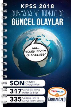Yediiklim Yayınları 2018 KPSS Dünyada ve Türkiye de Güncel Olaylar