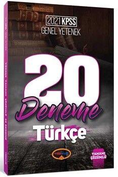 Yediiklim Yayınları 2021 KPSS Genel Yetenek Türkçe Tamamı Çözümlü 20 Deneme