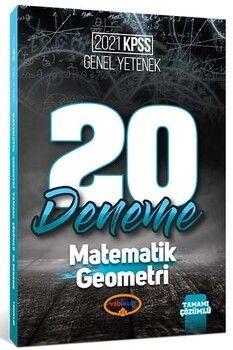 Yediiklim Yayınları 2021 KPSS Genel Yetenek Matematik Geometri Tamamı Çözümlü 20 Deneme