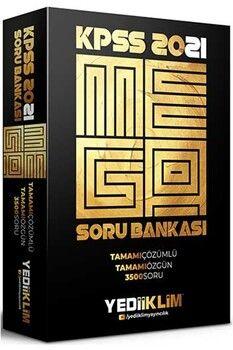 Yediiklim Yayınları 2021 KPSS Genel Yetenek Genel Kültür Mega Tamamı Çözümlü Soru Bankası