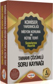 Yediiklim Yayınları 2018 Komiser Yardımcılığı Sınavlarına Hazırlık Tamamı Çözümlü Soru Kaynağı 3. Baskı