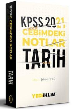 Yediiklim Yayınları 2021 KPSS Cebimdeki NotlarTarih