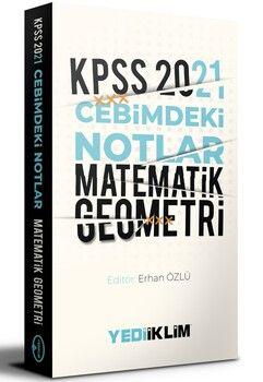 Yediiklim Yayınları 2021 KPSS Cebimdeki Notlar Matematik Geometri