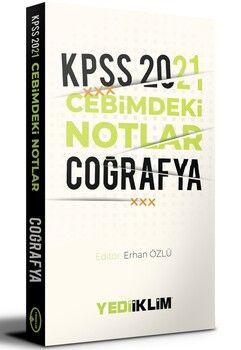 Yediiklim Yayınları2021 KPSS Cebimdeki NotlarCoğrafya