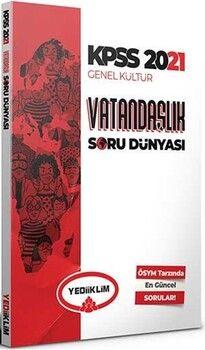Yediiklim Yayınları 2021 KpssGenel Kültür Vatandaşlık Soru Dünyası