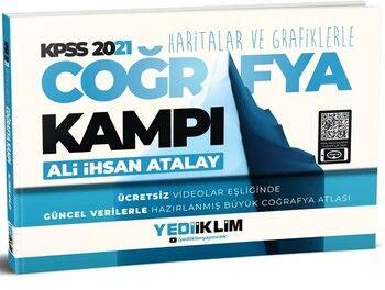 Yediiklim Yayınları 2021 KPSS Haritalar ve Grafiklerle Coğrafya Kampı