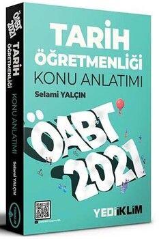 Yediiklim Yayınları 2021 ÖABTTarih Öğretmenliği Konu Anlatımı