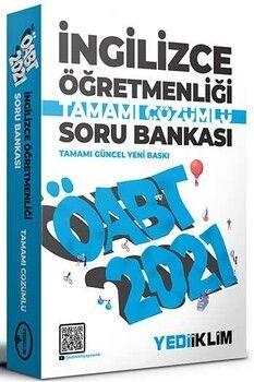 Yediiklim Yayınları 2021 ÖABT İngilizce Öğretmenliği Tamamı Çözümlü Soru Bankası