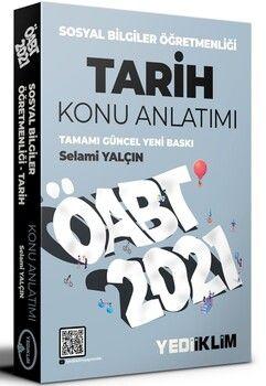 Yediiklim Yayınları 2021 ÖABT Sosyal Bilgiler Öğretmenliği Tarih Konu Anlatımı