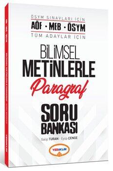 Yediiklim Yayınları AÖF MEB ÖSYM Tüm Adaylar İçin Bilimsel Metinlerle Paragraf Soru Bankası