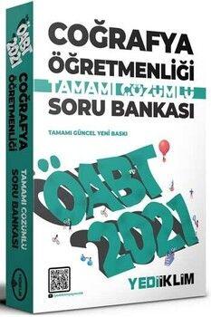 Yediiklim Yayınları 2021 ÖABT Coğrafya Öğretmenliği Tamamı Çözümlü Soru Bankası