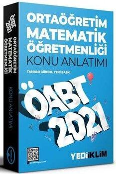 Yediiklim Yayınları 2021 ÖABT Ortaöğretim Matematik Öğretmenliği Konu Anlatımı