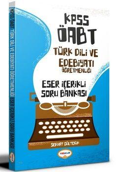 Yediiklim Yayınları KPSS ÖABT Türk Dili ve Edebiyatı Öğretmenliği Eser İçerikli Soru Bankası